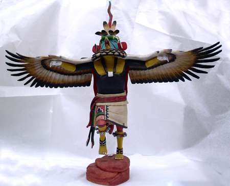 kachina, native american doll, masked dancer, supernatural being